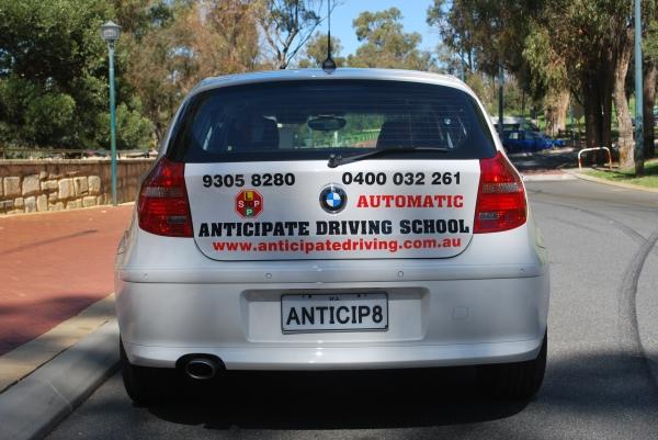 anticipate driving school  joondalup  australia